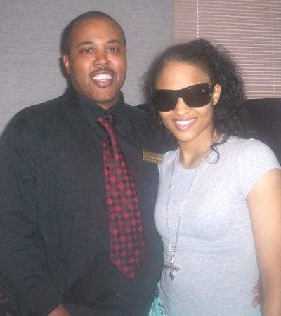 Ciara and Frankie Brooks