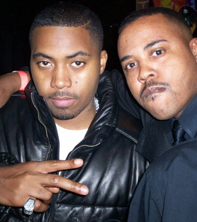 Nas and Frankie Brooks